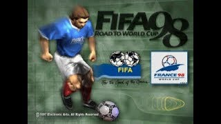 PSX Longplay [438] FIFA - Road to World Cup