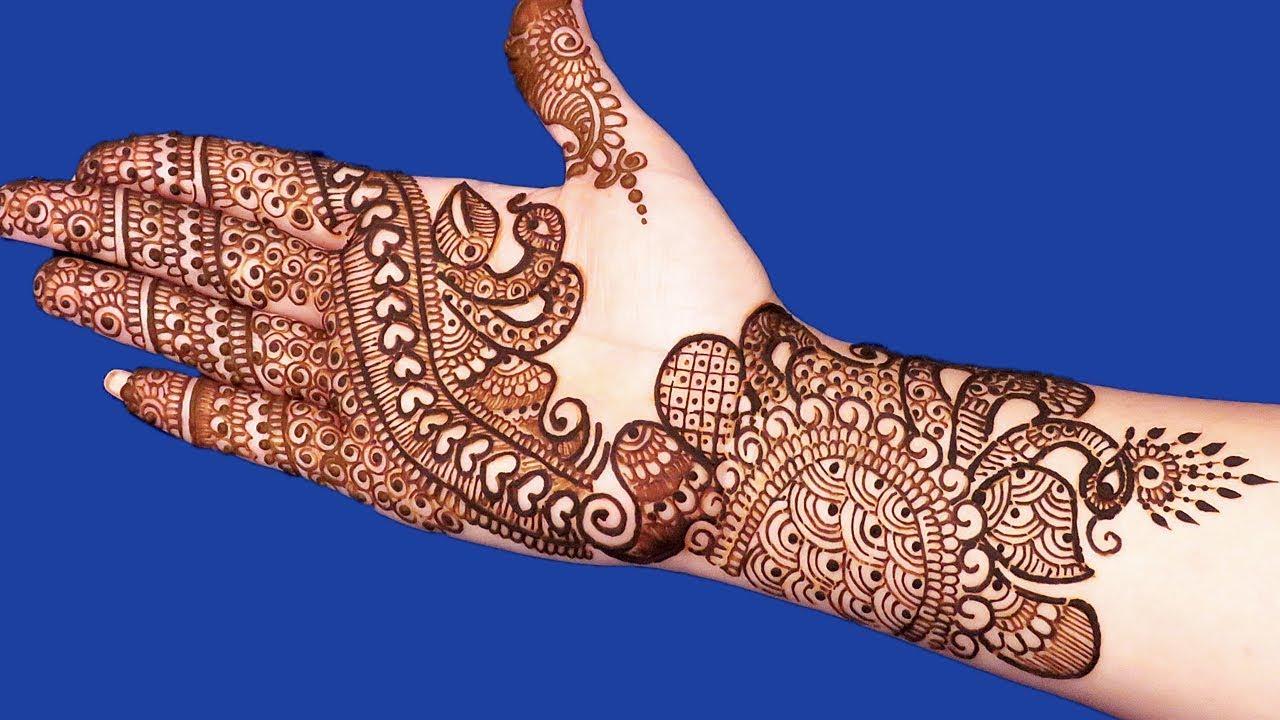 Mehndi Designs Please : Beautiful mehndi designs for hands simple arabic