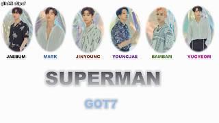 Got7 - superman türkçe color coded