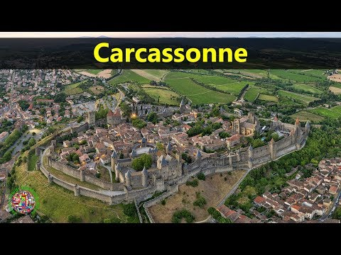 Best Tourist Attractions Places To Travel In France | Carcassonne Destination Spot
