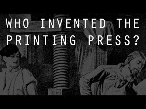 Who Invented the Printing Press? | The Architecture of Production
