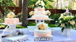 Как Сделать Свадебный Торт на 50 Человек Самому и Даже Сэкономить| How to Make a Wedding Cake