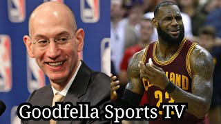 NBA Commissioner Adam Silver Says NBA Playoffs Ratings Are Down Because Lebron James Left The East..