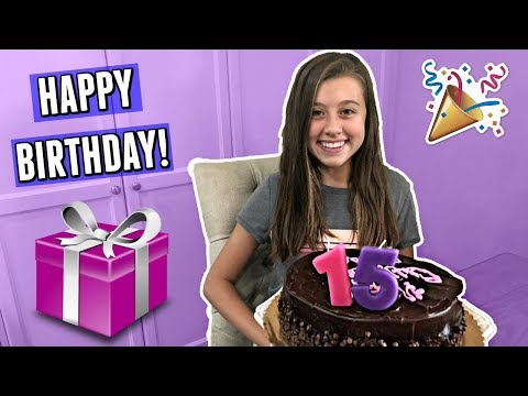 Gabrielle's 15th BIRTHDAY Party!
