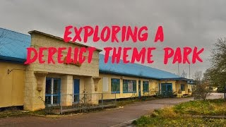 Exploring Derelict Theme Park Goes Terribly Wrong at Cleethorpes Pleasure Island- Urban Exploring