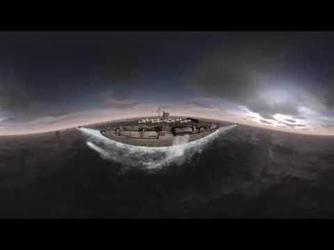 360°VR 空母赤城 デモ動画