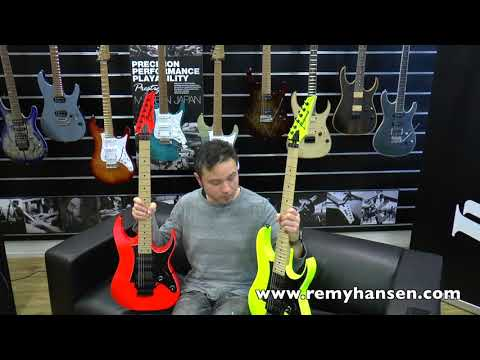 The new Ibanez RG 550 2018 model