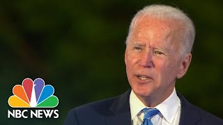 Biden Calls For Police Reform Meeting At White House If Elected | NBC News