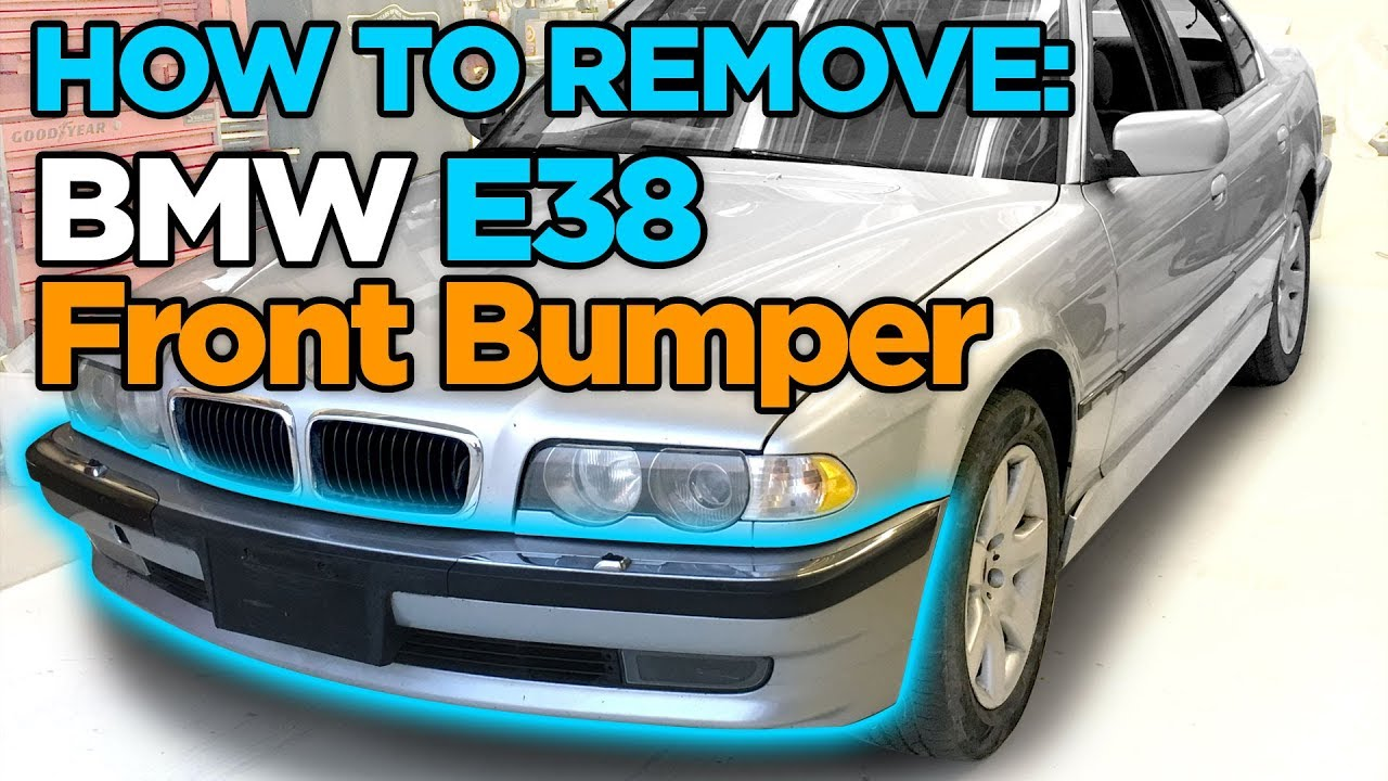 How To Remove Bmw E38 7 Series Front Bumper Auxiliary Fan Youtube 735i Engine Diagram