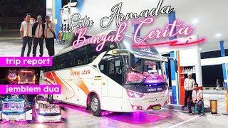 """Gambar cover [ JEMBLEM DUA, SANG PELARI TRANS JAWA 🔥 ] Trip Report Murni Jaya E218 """"Jemblem 2 """""""