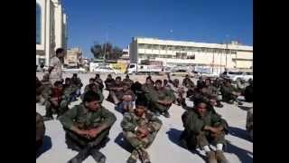 الجيش الوطني الليبي في ميدان طبرق يطالب بإسقاط المنقوش
