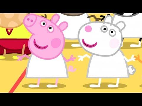 Свинка Пеппа на русском все серии подряд ⚽️ Урок физкультуры 🏀Мультики