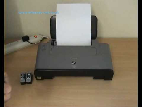 Reseting Canon IP and MP Series Printers