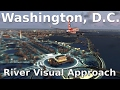 Fsx washington d c river visual approach new scenery mp3