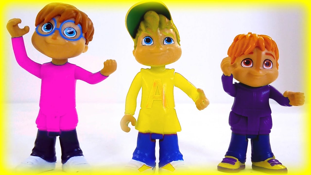 Alvin And The Chipmunks Color Mix Up Toys Game For Kids Children