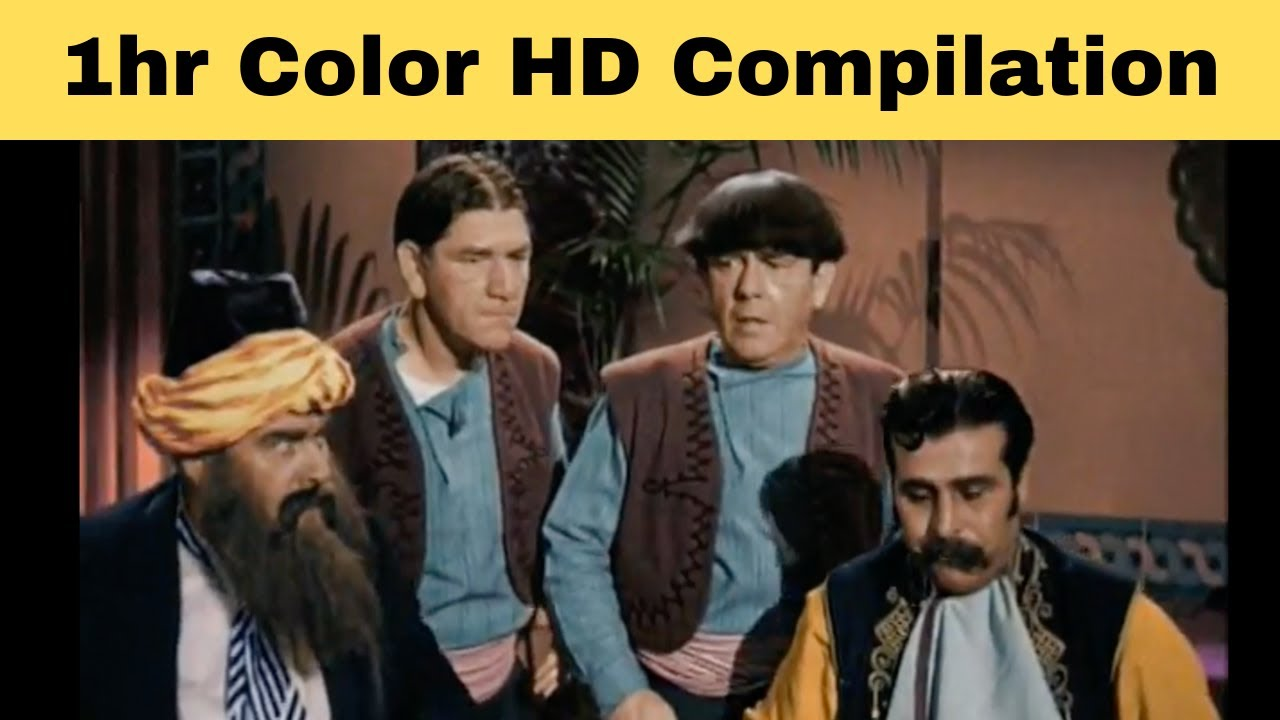 Download The Three Stooges (FULL COLOR HD) - 1HR Compilation