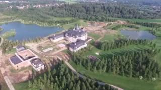 рублевка , замок , барский дом ,вроде , вроде это не борщь , скоро  будет 3д скан