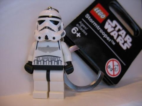 Lego Star Wars Stormtrooper Key Chain Review Youtube