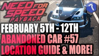 Need For Speed Payback Abandoned Car #57 - Location Guide + Gameplay - NFSMW BMW M3 GTR!