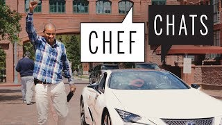 JJ Johnson Explains The Finger Trick | Chef Chats | Food & Wine