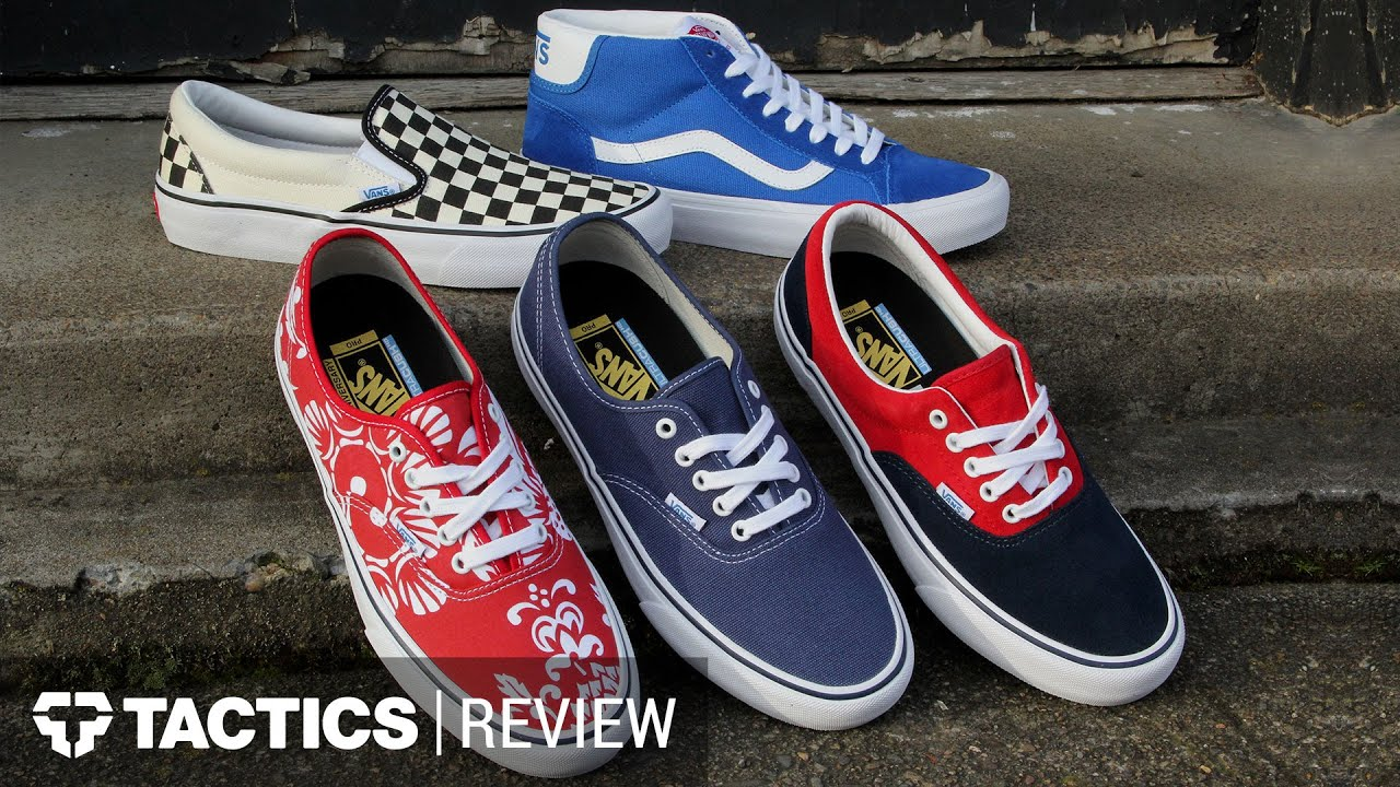 Vans 50th Anniversary Skate Shoes Collection Tactics