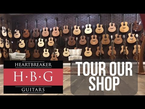 Take A Tour Of Our Las Vegas Guitar Shop!