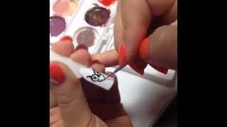 Как нарисовать сову на ногтях!?(Небольшой видео мастер-класс о том как нарисовать всеми любимых совушек! За мастер-класс спасибо мастеру..., 2014-08-01T06:38:10.000Z)