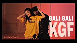 KGF Gali Gali Cover dance by Chotu Lohar & Ekta Wankhede Yash Mouni Roy Neha kakkar