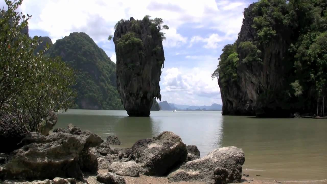 James Bond Watch >> Isla de James Bond - James Bond Island - Tailandia - YouTube