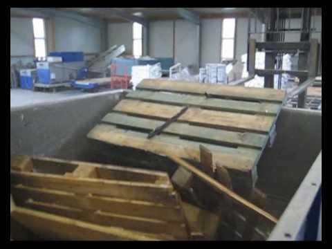 Trituradora para palets y otros derivados de la madera - Madera para palets ...