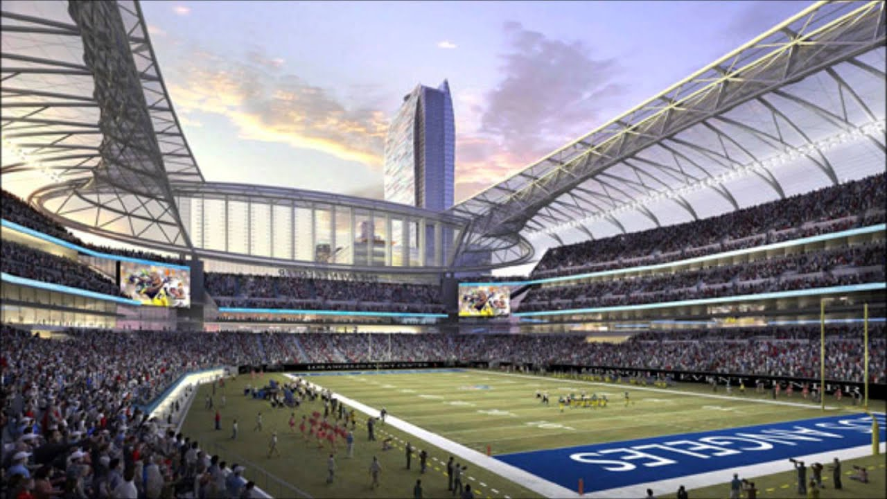 The Future Nfl Stadiums Youtube