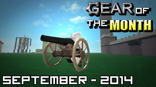 Civil War Cannon! - ROBLOX Gear of the Month - September 2014 - #14