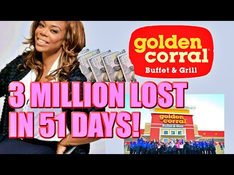 Millionaire Loses 3 Million to Golden Corral Franchise in 51 Days!