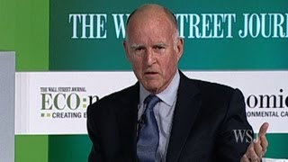 CA Gov. Brown on Politics and Sustainable Energy