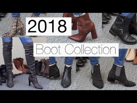2018 Boot Collection