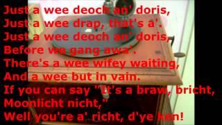 (1911) Just a Wee Deoch-An-Doris - Mr.Dugal Cratur