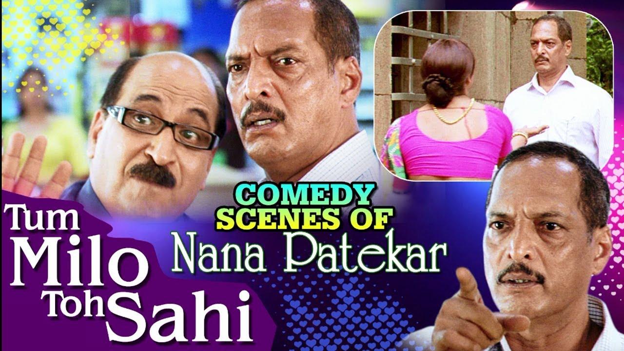 Download Nana Patekar Comedy Scenes | Jukebox | Nana Patekar Dialogue Special - Tum Milo Toh Sahi