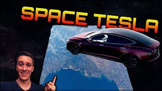 THE TESLA SPACE MISSION   Forza Horizon 3 Dev Mods   Is there a height limit?