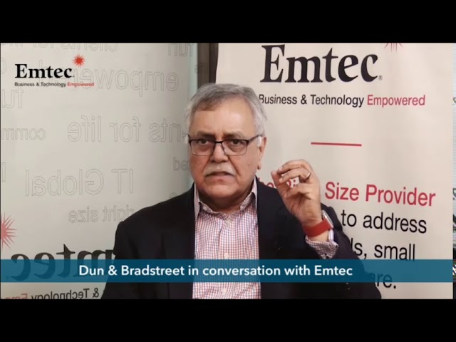 Technology as an enabler for Digital Transformation: A conversation with D&B | Emtec
