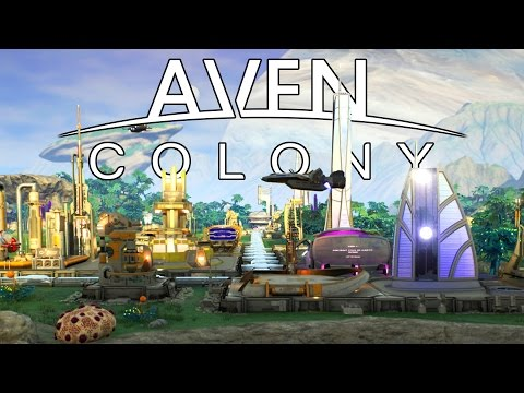 Aven Colony - Space Based City Builder Tutorial! - Let's Play Aven Colony Gameplay