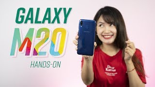 Mở hộp Samsung Galaxy M20