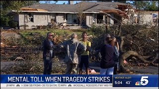 The mental toll of the recent tornado damage || NBC 5-DFW || 10/30/19