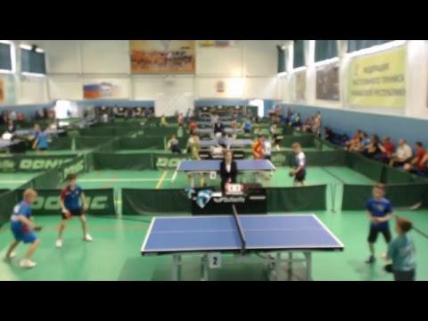 Первенство России по настольному теннису (1 камера)
