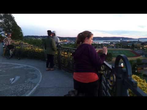 Grand Avenue Park, Naval Station Everett, Puget Sound, and Everett Marina, Washington, July 17, 2017