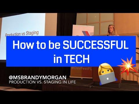 How to be successful in tech | Keynote @DevFestFL #devfestfl