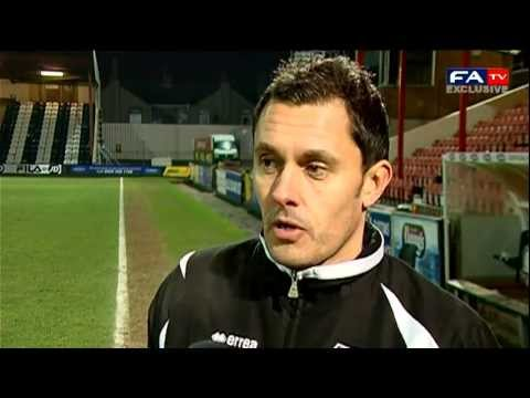 FA Trophy - Grimsby Town's Paul Hurst