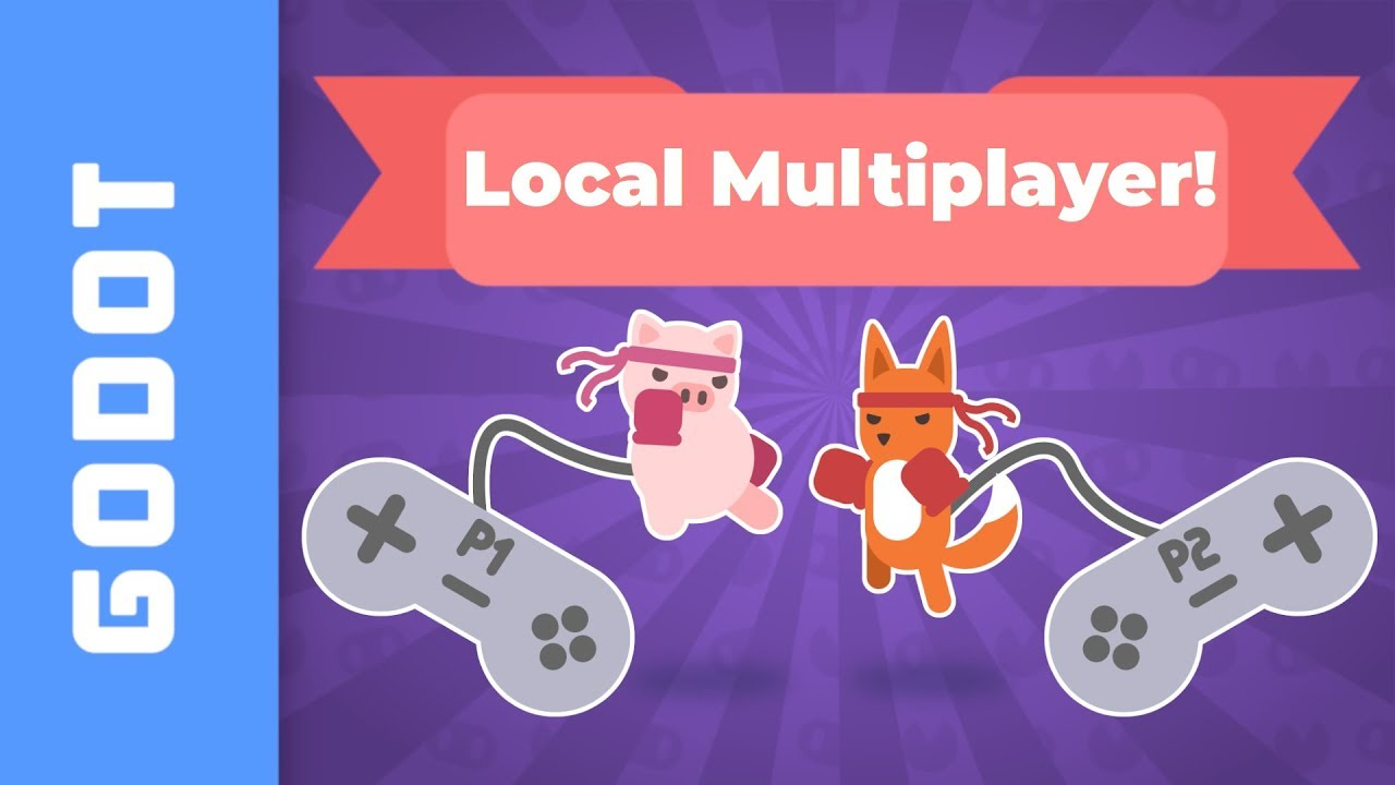 #Gamedev - How to Add Support for Local Multiplayer in #GodotEngine