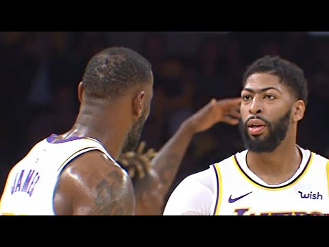 Atlanta Hawks vs LA Lakers - 1st Half Highlights | Nov 17, 2019 | NBA 2019-20