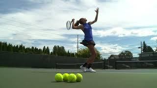Madison Egan Class of 2019 Tennis Video (Rogers High School- Tennis Recruiting Video)