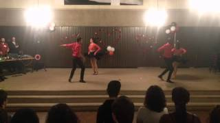 YU Salsa Dance Team Valentine's Social Performance